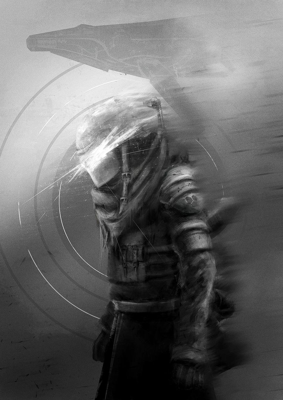Deszczowy żołnierz